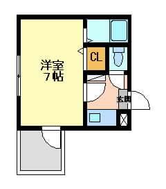 阪急京都線正雀の賃貸物件間取画像