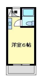 摂津市正雀}の賃貸物件間取画像