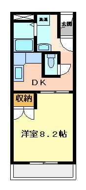 摂津市正雀本町}の賃貸物件間取画像