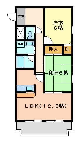 摂津市東別府}の賃貸物件間取画像
