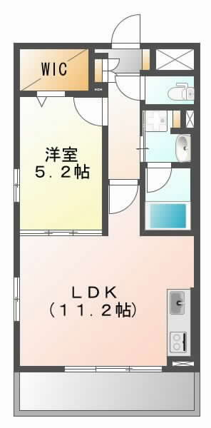 阪急京都線摂津市の賃貸物件間取画像